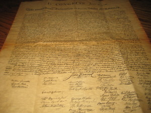 Declaration of Independence 004
