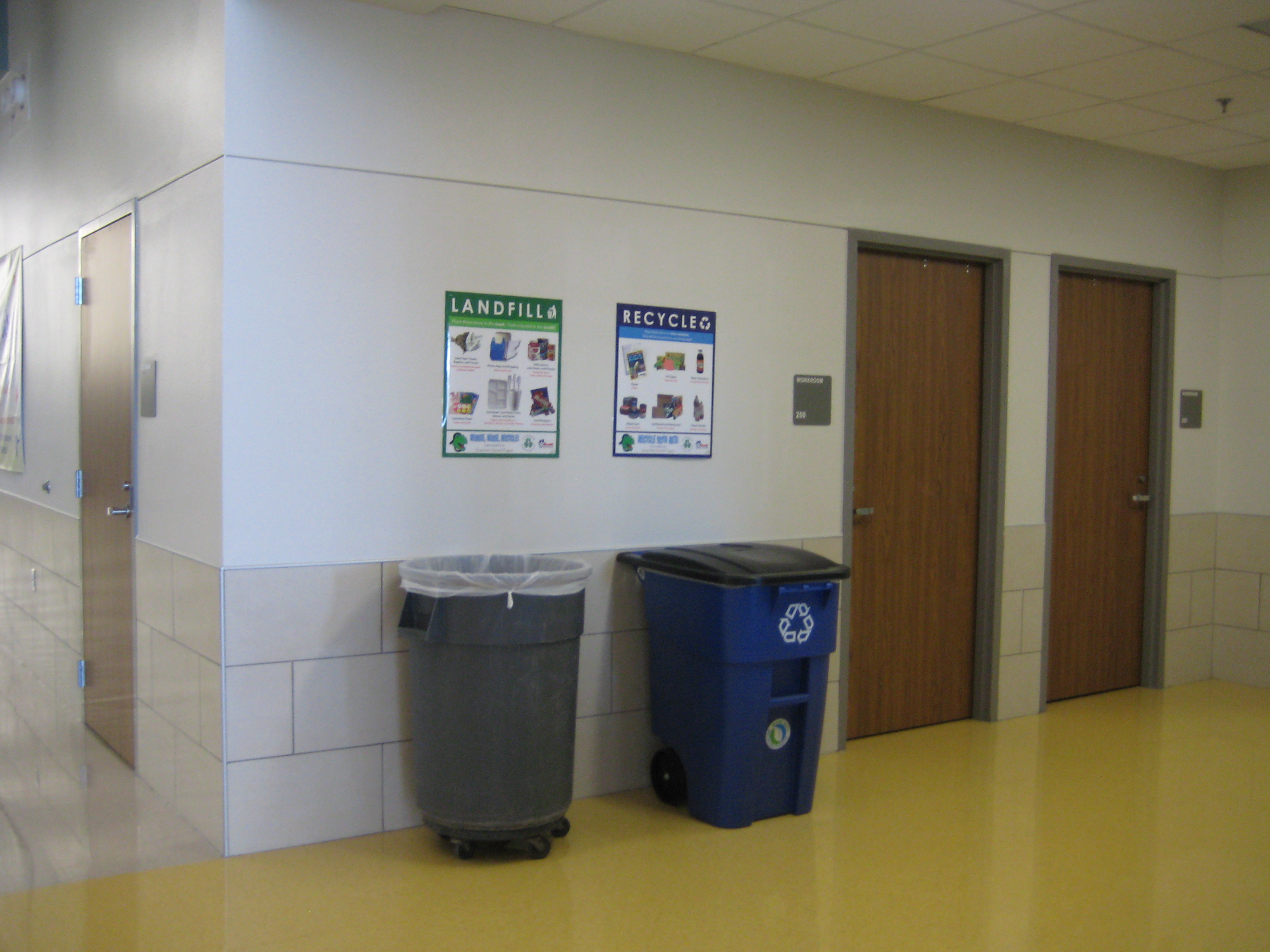 Recycling bins 021
