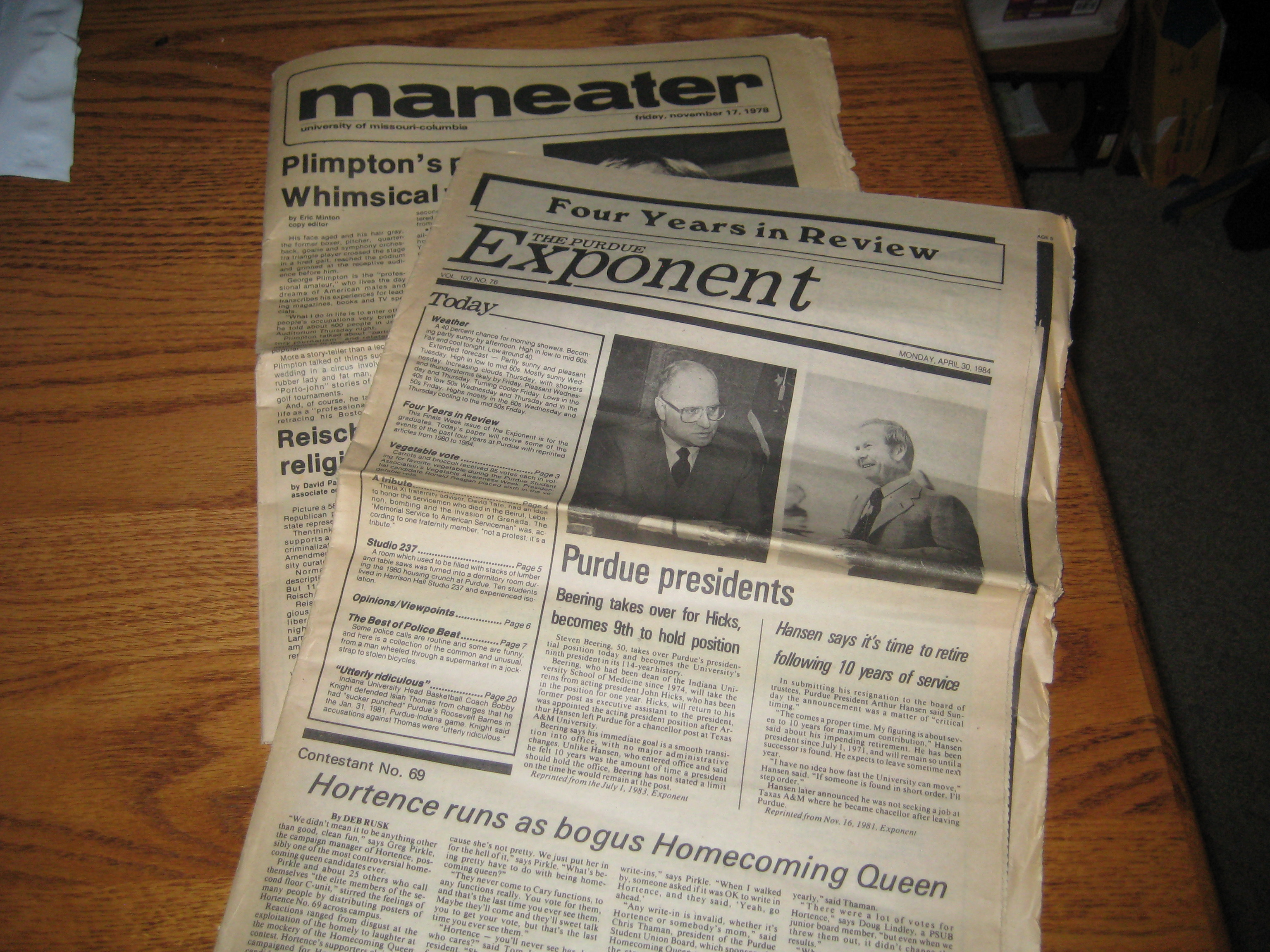 College newspapers 002