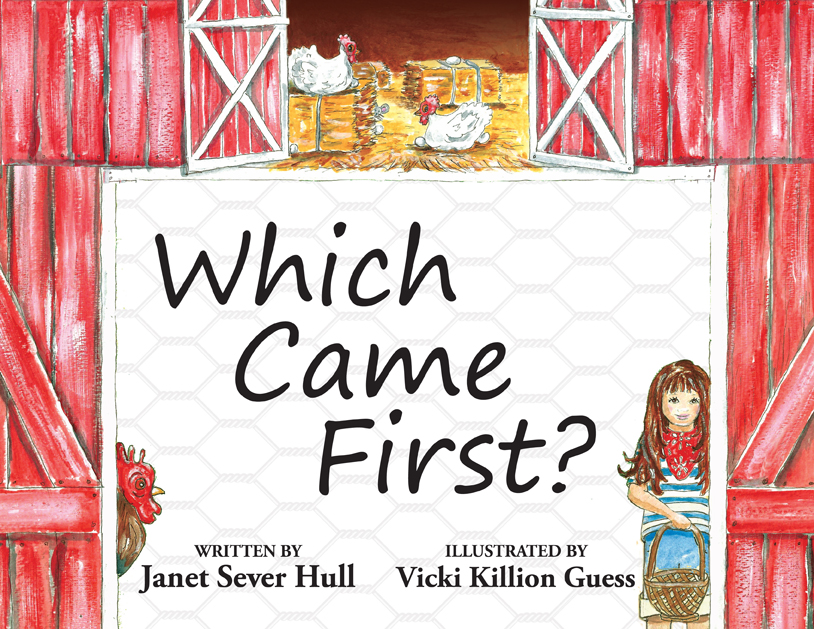 Which Came First Book Front Cover 4-8-16